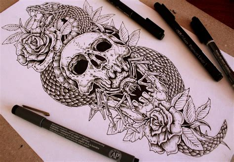 forearm tattoo desing sold by eg thefreak on deviantart