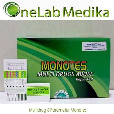 Alat Tes Urine 6p Monotes Alat Tes Narkoba Akurat Monotes Onelab Medika