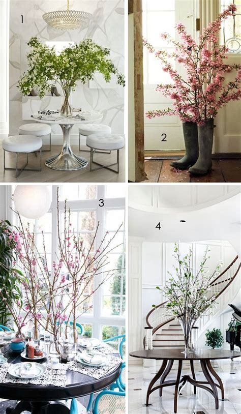 using branches in home decor decorating with floral branches for the home pinterest