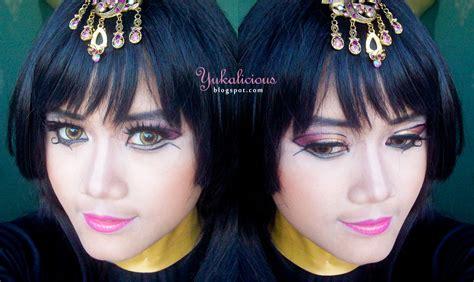 tutorial makeup inez yukalicious march 2014