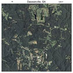 aerial photography map of dawsonville ga