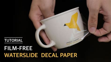 How To Make Waterslide Decal Paper - how to use free waterslide decal paper 무필름 물전사지