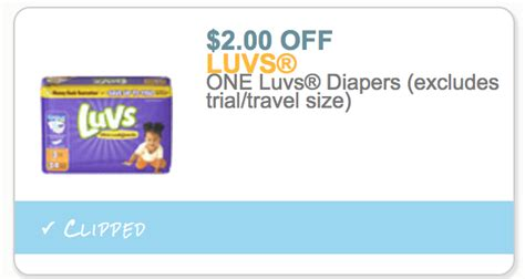 printable luvs diaper coupons save on luvs at target walmart