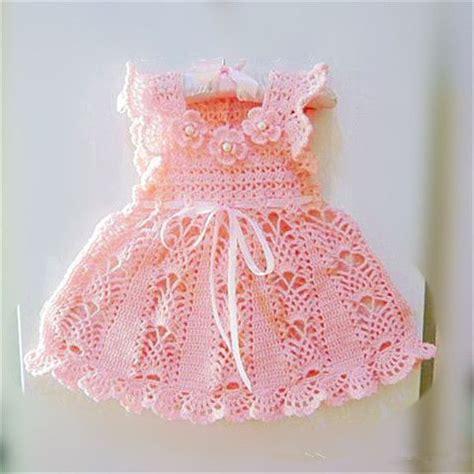 Handmade Crochet Baby Dress - handmade crochet baby dress 2014 princess dress design for