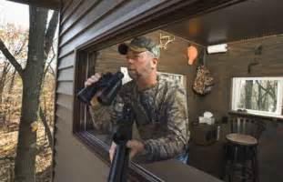 Duck Pit Blinds For Sale Illinois Man Designs Unique Deer Stand Prairie State