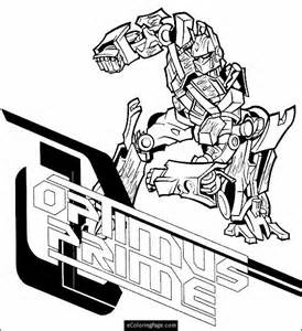 coloring pages optimus prime truck Page 2 image