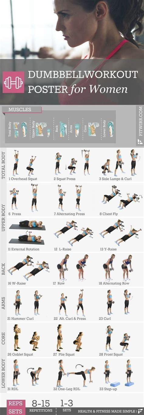 best dumbbell workout routine best 25 dumbbell workout ideas on workout