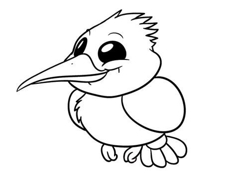 imagenes faciles para dibujar de pajaros dibujo de mart 237 n pescador para colorear dibujos net