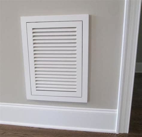 air conditioner filter door woodairgrille wood return air filter grille wood
