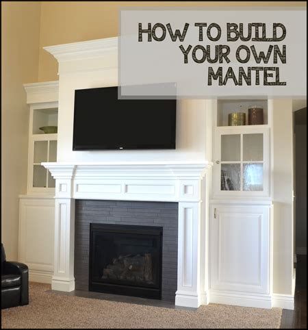 How To Build An Electric Fireplace Mantel how to build your own fireplace mantel sunlit spaces