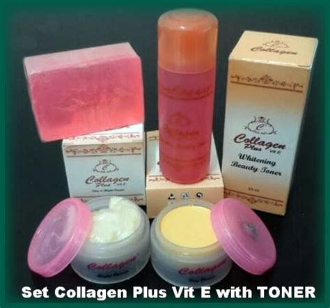 Collagen Colagen Plus Vit E Whitening Soap produk collagen plus vit e cpve kak sha house
