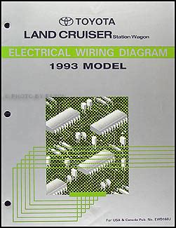 car manuals free online 1993 toyota land cruiser head up display 1993 toyota land cruiser wiring diagram manual original