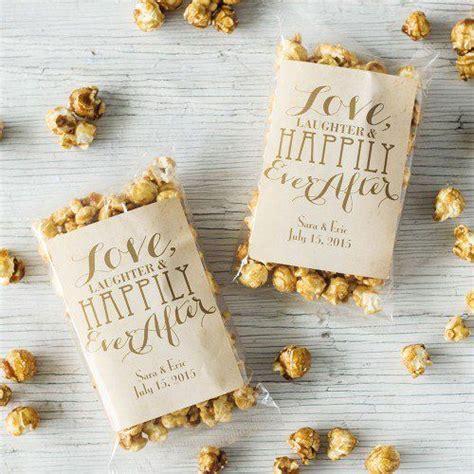Personalized Caramel Corn   Wedding   Popcorn wedding