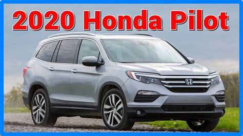 Honda Pilot 2020 Redesign 2020 honda pilot rumors redesign