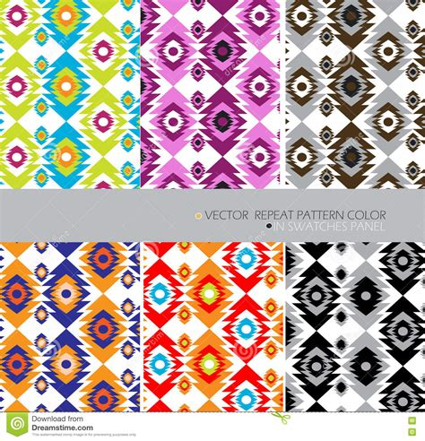 pattern repeat textiles definition aztecs repeat pattern modern color set 6 ethnic abstract