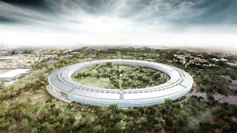 apple office apple s new headquarters in cupertino youtube