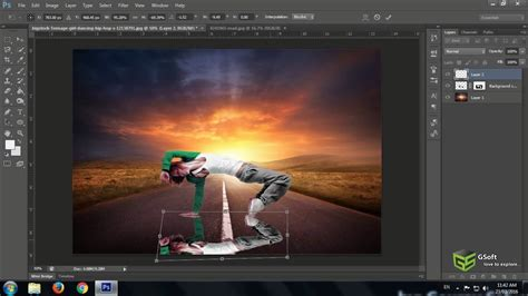 how to insert pattern in photoshop cs6 remove background and add another background from image