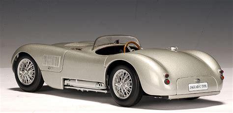 Jaguar C Type Autoart by Autoart 1951 Jaguar C Type Silver 73501 In 1 18 Scale