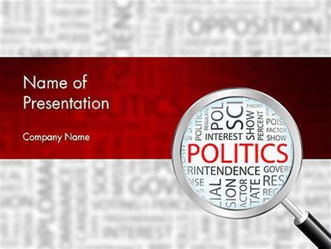 government and politics powerpoint presentation templates