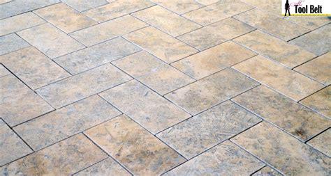 tile pictures silver travertine tile herringbone floor tutorial her