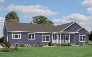 one story ranch helderburg modular home floor plan