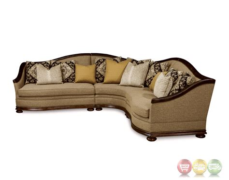 tuscan sofa esperanza tuscan natural beige sectional sofa with aniline
