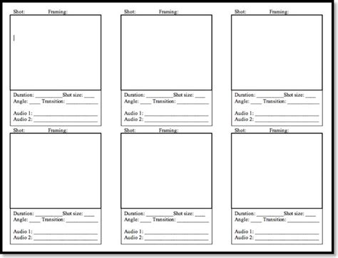 video storyboard template powerpoint bountr info