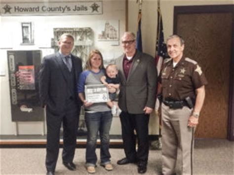 Howard County Warrant Search Kokomo Indiana Telmate Dedicated Howard County Deputy Receives Telmate Fallen Heroes Award