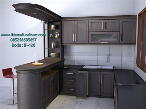 design kitchen set jual kitchen set minimalis elegan model kitchen set
