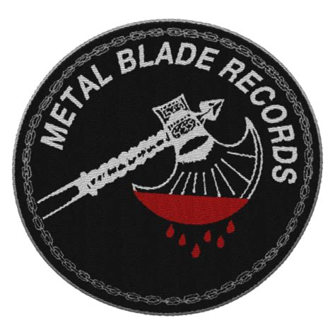 Metal Blade Records metal blade records quot axe logo patch quot patch metal blade