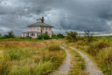 Light Ring Pink House With Storm Newburyport Ma Robert M Ring