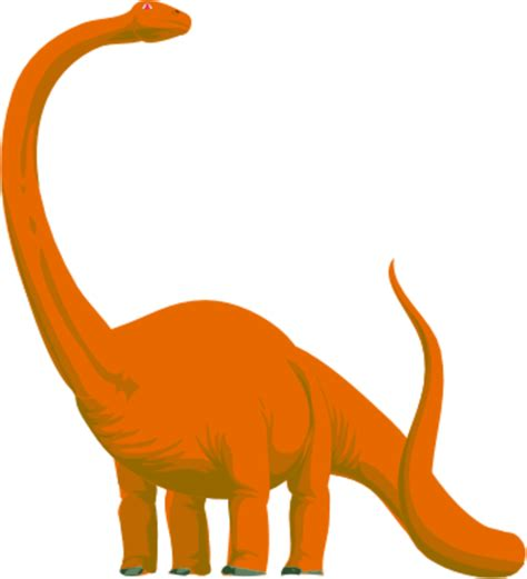 Orange Dino orange dinosaur clipart clipart suggest