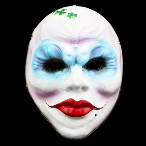 Delightful Clover Garden Center #8: New-Pay-Day-2-Masks-Clover-Resin-Female-Mask-2017-Hot-Red-Full-Face-Masquerade-Party.jpg