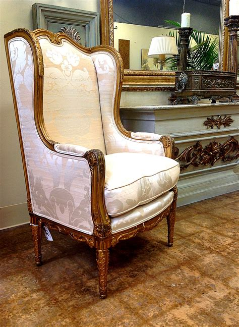 incredible damask chair living room furniture decorating attractive antique wingback chair design inspiration with