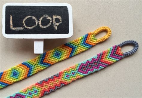 Diy Easy Beginning Loop For Friendship Bracelets Braided