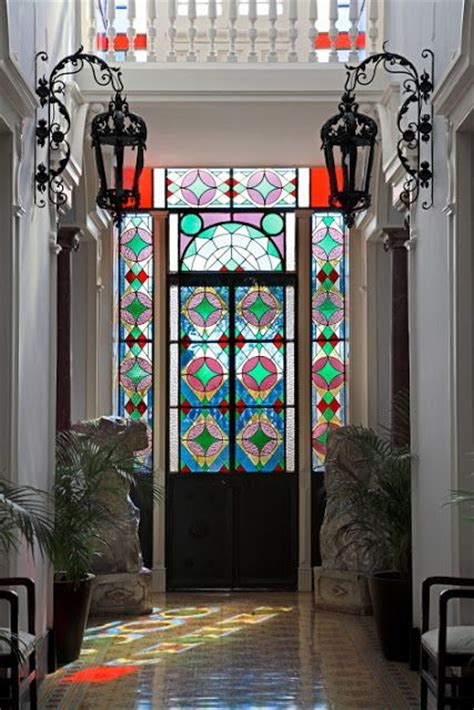 28 Beautiful Glass Front Doors For Your Entry Shelterness Mosaic Glass Door