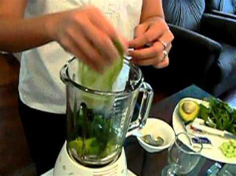 teks prosedur membuat jus alpukat resep minuman sehat juice bayam alpukat with