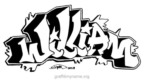 william graffiti names graffiti
