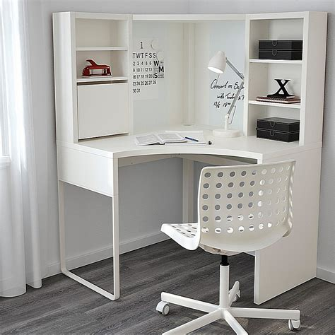 Ikea Corner Desk White Ikea Micke Corner Workstation Corner Desk White Minimalist Desk Design Ideas