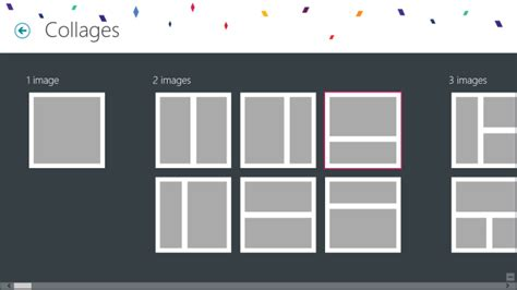 grid layout maker phototastic windows 8 rt collage maker with loads of