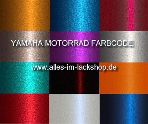 Yamaha Motorrad Farbcode farbcode yamaha motorradlack metallic uni basislack