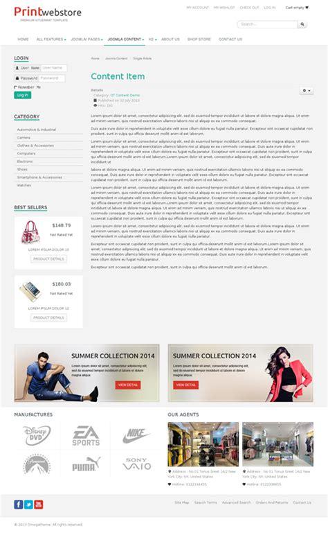 template joomla com virtuemart ot print multipurpose joomla virtuemart template