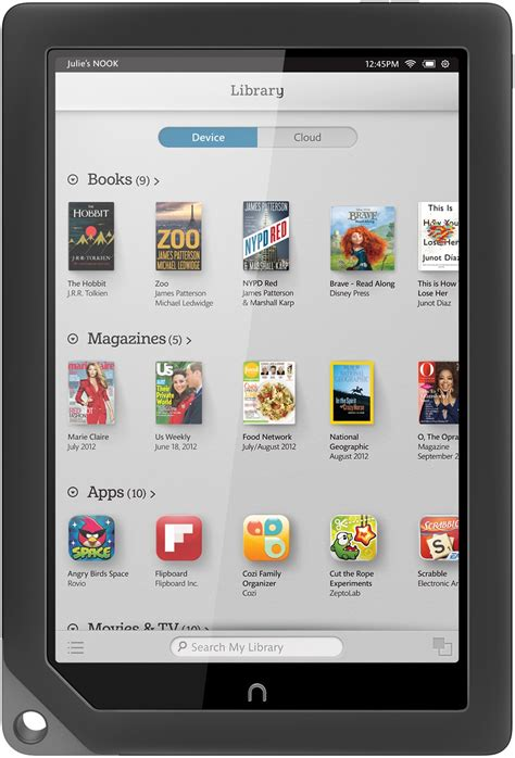 Barnes And Noble Publishing New Review Nook Hd Is The Best Large Budget Tablet