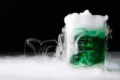 ghiaccio secco per alimenti ecco la singolare reazione ghiaccio secco con una moneta