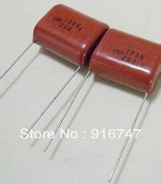 mkp capacitor mkp capacitor hx 10uf 106k 250v in resonators from electronic components supplies on