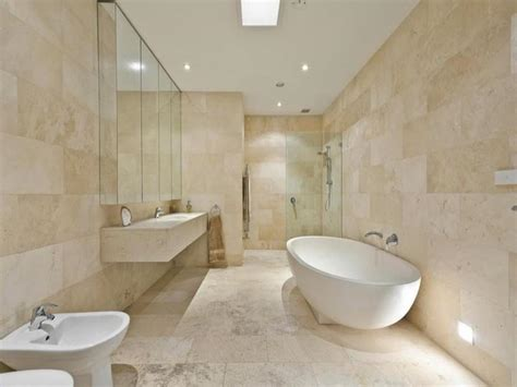 Travertine Tile Bathroom Ivory Travertine Tiles Sefa