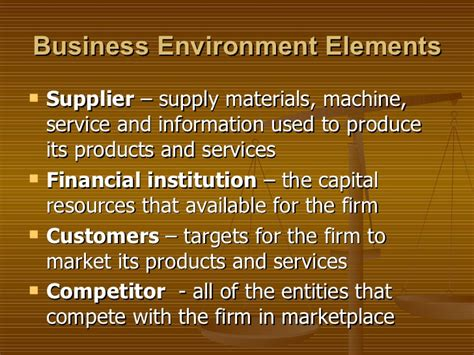 Business Environment Notes For Mba Ppt by 02 Business Environment