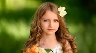 Cute baby golden hair and eye girl hd wallpapers rocks