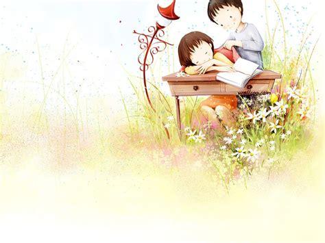 wallpaper sweet couple cartoon sweet cartoon couple szukaj w google obrazki