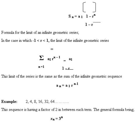 geometric pattern equation geometric number pattern formula geometric sequence